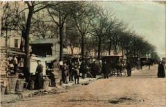 Le Marché du Boulevard Edgard-Quinet 75 Paris 14e