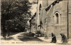 Montmartre - Dans les Jardins de l'Eglise Saint-Pierre 75 Paris 18e