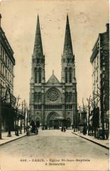 Eglise Saint-Jean-Baptiste à Belleville - Paris 20e