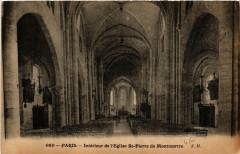 Intérieur de l'Eglise Saint-Pierre de Montmartre 75 Paris 18e