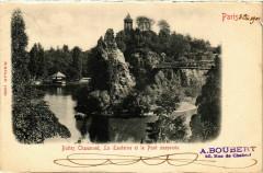 Buttes Chaumont, La Lanterne et le Pont suspendu 75 Paris 19e