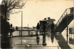 Alfortville - Inondations de anvier 1910 - Les Quais vers la .. 94 Alfortville