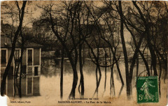 Les Inondations en 1910 - Maisons-Alfort - Le Parc de la Mairie 94 Maisons-Alfort