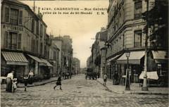 Charenton - Rue Gabrielle prise de la rue de Saint-Mandé 94 Saint-Mandé