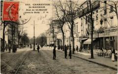 Charenton-Saint-Maurice - Rue de Saint-Mandé vers le Bois 94 Saint-Mandé