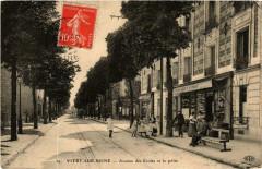 Vitry-sur-Seine Avenue des Ecoles et la poste 94 Vitry-sur-Seine