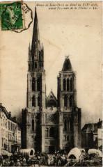 Abbaye de Saint-Denis au debut du Xix s. avant l'incendie de la 93 Saint-Denis