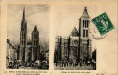 Abbaye de Saint-Denis au début du Xix s. - Abbaye de Saint-Denis 93 Saint-Denis