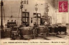 Pierre-Benite - Le Perron - Les Cuisines - Marmites a vapeur - Pierre-Bénite