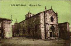 Mornant - L'Eglise et la Place 69 Mornant