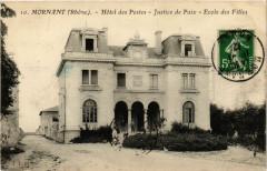 Mornant - Hotel des Postes - Justice de Paix - Ecole des Filles 69 Mornant