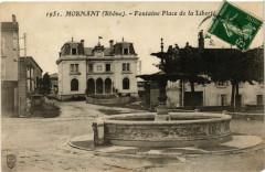 Mornant - Fontaine Place de la Liberté 69 Mornant