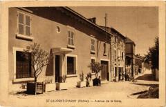 Saint-Laurent-d'Agny - Avenue de la Gare - Saint-Laurent-d'Agny
