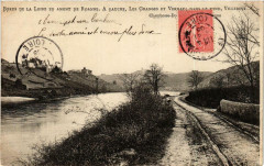 Bords de la Lore en amont de Roannea gauche.Les Granges et Vernay 42 Roanne