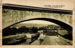 Savigneux Le Canal du Forez Pont du Chemin de Fer - Savigneux