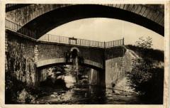 Savigneux Le Vizézy. Le Canal du Forez Pont du Chemin de Fer - Savigneux