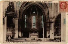 Saint-Cyr-de-Favieres Interieur de l'Eglise - Saint-Cyr-de-Favières