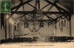 Savigneux Chapelle provisoire vue interieure - Savigneux