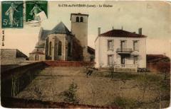 Saint-Cyr-de-Favieres Le Clocher - Saint-Cyr-de-Favières
