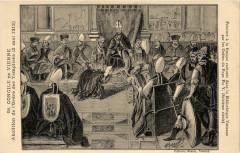 Concile de Vienne - Fresque exécutée dans la Bibliothéque Vaticane 38 Vienne
