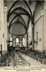 Intérieur de la Chapelle de Notre Dame de l'Isle pres Vienne 38 Vienne