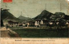 Banlieue de Grenoble - Escarpement du Massif de la Chartreuse 38 Grenoble