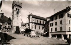 Saint-Jeoire-en-Faucigny - La Vieille Tour et l'Eglise - Faucigny
