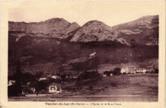 Veyrier-du-Lac - L'Eglise et le Mont Baron - Veyrier-du-Lac