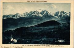 La Chaine du Mont-Blanc vue de Cordon - Cordon