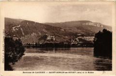 Saint-Sorlin-en-Bugey et le Rhone - Saint-Sorlin-en-Bugey