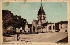 Villars-les-Dombes Place de l'Eglise - Villars-les-Dombes