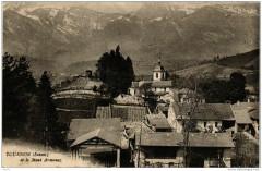 Tournon et le Mont Armenaz - Tournon