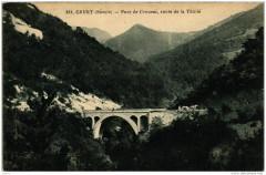 Cruet Pont de Crousaz route de La Thuile - Cruet