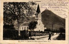 Cruet - L'Eglise et le Mont Charvay (1446 m) - Cruet