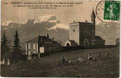 Chignin - Sanctuaire de Saint-Anthelme et la Dent de Granier (1938 - Chignin