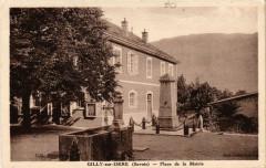 Gilly-sur-Isere (Savoi) - Place de la Mairie - Gilly-sur-Isère