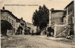 Saint-Jean le Centenier. Avenue du Coiron - Saint-Jean-le-Centenier