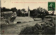 Saint-Peray Inondation 1907. Le Pont Vieux - Saint-Péray