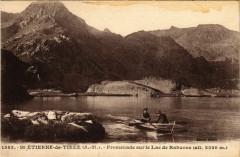 Saint-Etienne-de-Tinee - Promenade sur le Lac de Rabuons - Saint-Étienne-de-Tinée