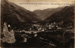 Saint-Etienne-de-Tinee - Vue générale de la Vallée - Saint-Étienne-de-Tinée