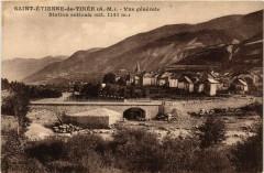Saint-Etienne-de-Tinee - Vue générale - Station estivale - Saint-Étienne-de-Tinée