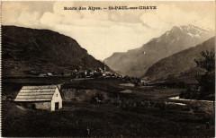 Route des Alpes Saint-Paul sur Ubaye - Saint-Paul-sur-Ubaye