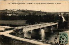 Env. de Rennes - Laille - Le Pont et la Route conduisant au 35 Rennes