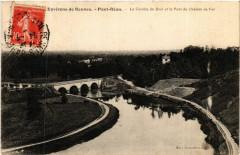 Env. de Rennes - Pont-Rean - La Courbe du Boet et le Pont du 35 Rennes