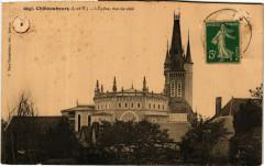 Chateaubourg - L'Eglise vue de cote - Châteaubourg