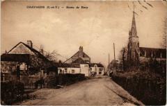 Chavagne - Route de Bury - Chavagne