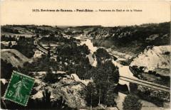 Env. de Rennes - Pont-Réan - Panorama du Boél et de la Vilaine 35 Rennes