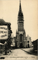 La Guerche-de-Bretagne (I.-et-V.) - L'Eglise - La Guerche-de-Bretagne