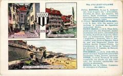Dép d'Ille-et-Vilaine - Rennes-Montfort-sur-Meu - Saint-Malo... 35 Rennes