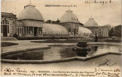 Bretagne - Rennes - Les Serren du Jardin des Plantes 35 Rennes